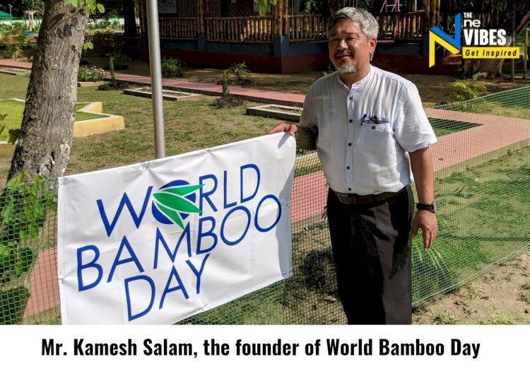 Bamboo can Contribute to Atmanirbhar Bharat & Atmanirbhar NorthEast: Kamesh Salam, founder of WBD