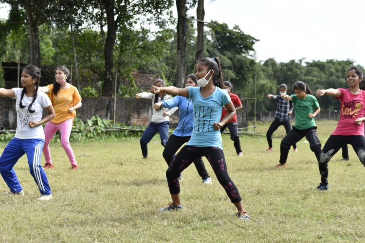Don't Mess Up! Young Girls in Assam all Set for 'Prahar'