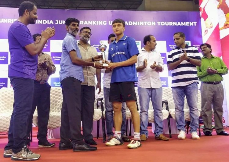 Maisnam Meiraba wins Junior Badminton Title Again