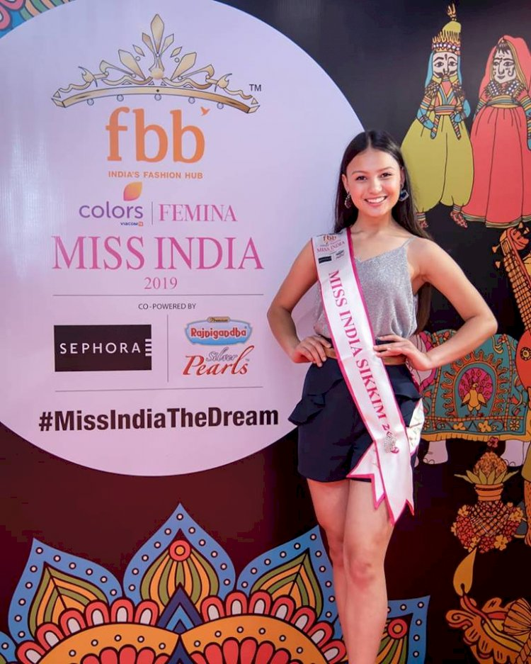 Miss Sikkim Sang Doma Tamang wins 'Miss Active' title