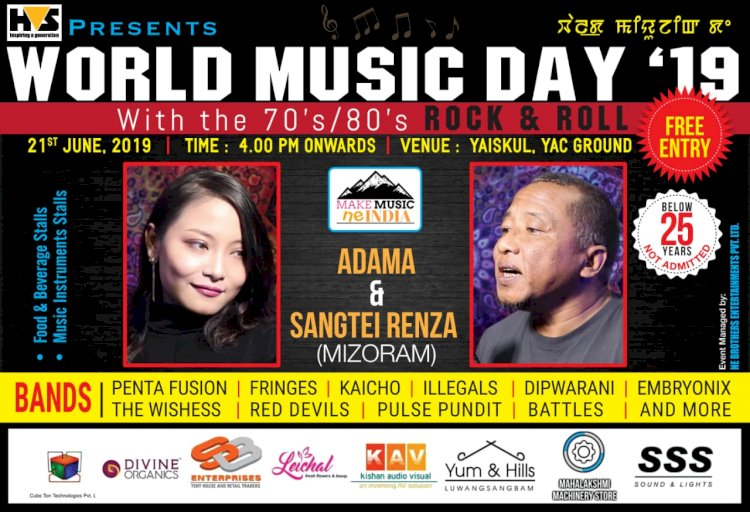 From Sangtei Renza to Penta Fusion: Manipur Rock & Roll on World Music Day