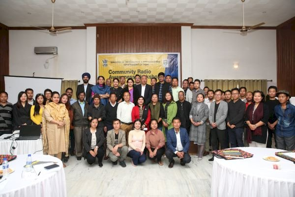 NGOs from Manipur and Nagaland attend 'Community Radio Awareness Workshop' for Northeast